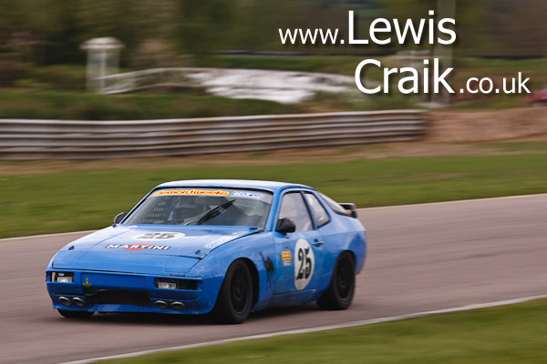 Kamal Kalsi - Double race winner in Porsche 924 Championship